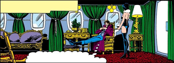 Hellfire Club (Marvel Comics) (Sebastian Shaw 1) - Mastermind and Tessa