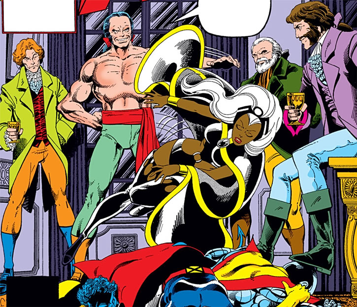 Hellfire Club (Marvel Comics) (Sebastian Shaw 1) - defeated X-Men