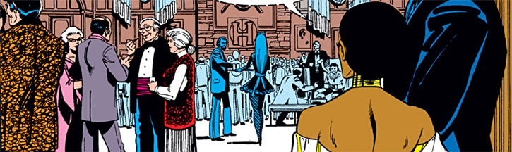 Hellfire Club (Marvel Comics) (Sebastian Shaw 1) - cocktail event