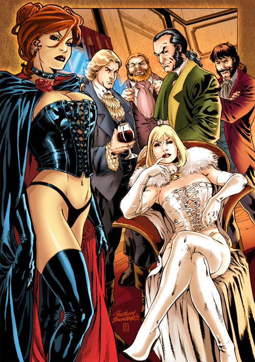 Hellfire Club (Marvel Comics) (Sebastian Shaw 1)
