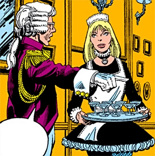 Hellfire Club (Marvel Comics) (Sebastian Shaw 2) - Serving staff