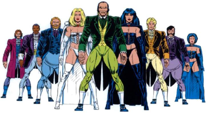 Hellfire Club (Marvel Comics) (Sebastian Shaw 2) - Roster master edition handbook