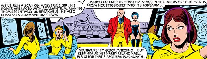 Hellfire Club (Marvel Comics) (Sebastian Shaw 2) - Sensor technicians