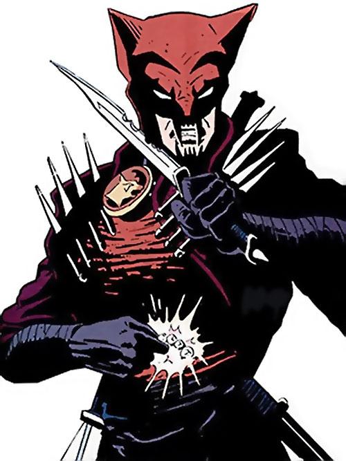 Hellhound (Catwoman enemy) (DC Comics) (Kai)
