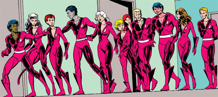 Merged Hellions and New Mutants lineup