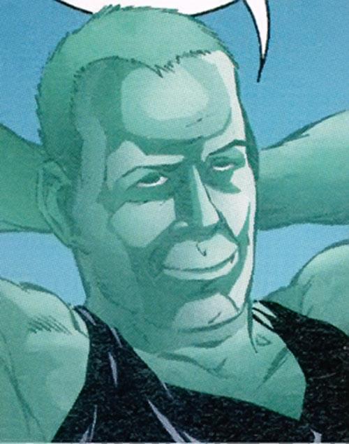 Hellstrike from StormWatch (face closeup)