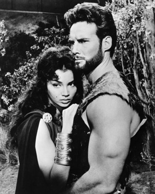 Hercules (mythology) - Steve Reeves and beautiful woman