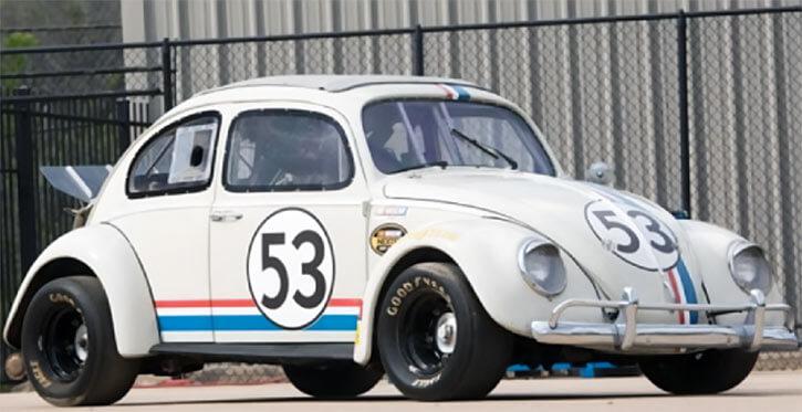 Herbie the love bug (Disney movies) NASCAR modified