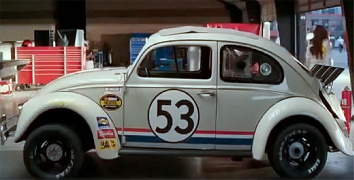 Herbie the love bug (Disney movies) NASCAR ready