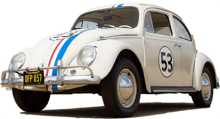 Herbie the love bug (Disney movies)
