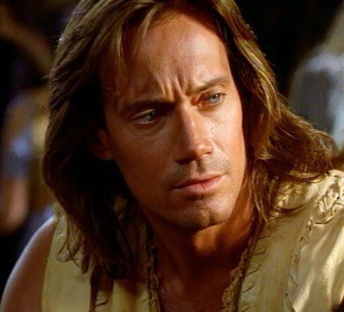 Hercules (Kevin Sorbo in Legendary Journeys) handsome