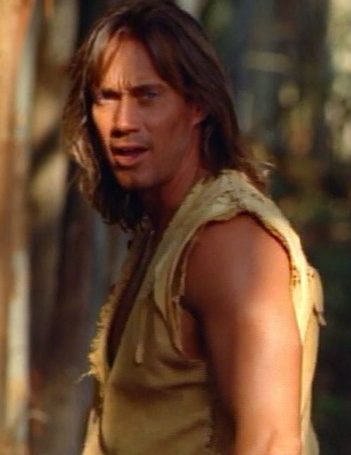 Hercules (Kevin Sorbo in Legendary Journeys) speaking up