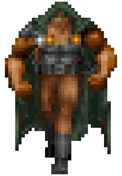 Heretic video game - Corvus - Character sprite