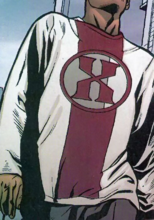 Hexus the Living Corporation logo (Marvel Boy enemy) (Marvel Comics)