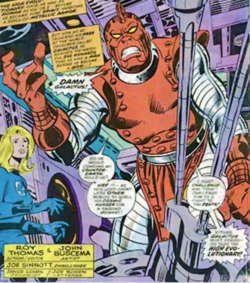 High Evolutionary (Marvel Comics) and Susan Storm