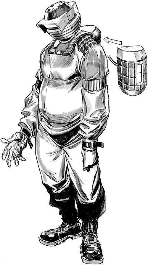 Hijacker - Marvel Comics- 2009 redesign by Tan Eng Huat