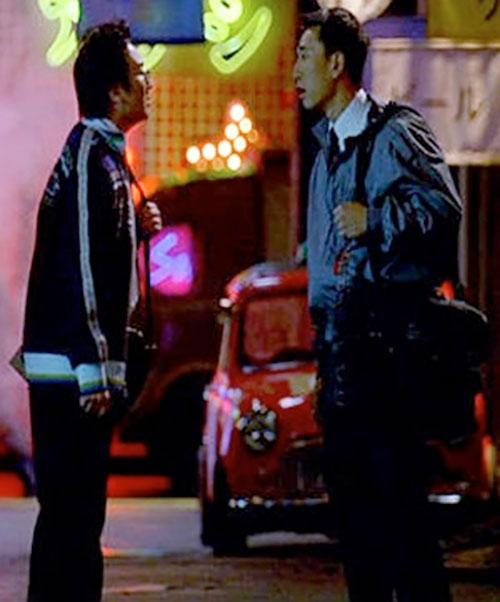Hiro Nakamura (Masi Oka in Heroes) and his friend
