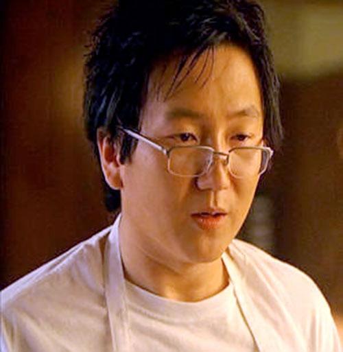 Hiro Nakamura (Masi Oka in Heroes) face closeup