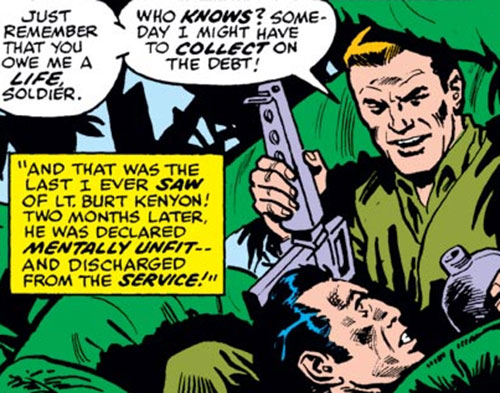 Hitman (Burt Kenyon) and the Punisher in Viet Nam