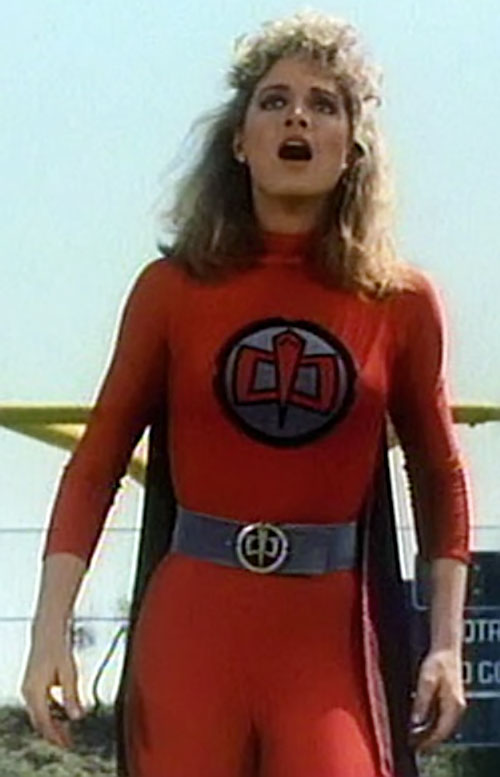 Holly Hathaway (Mary Ellen Stuart in Greatest American Hero) in the red costume