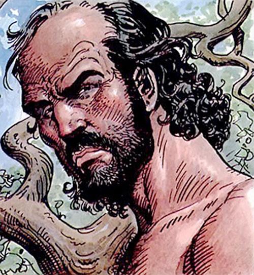 Hombre (Segura & Ortiz) face closeup with beard