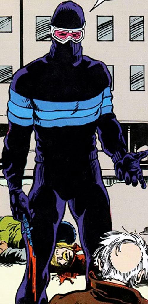 Homeless Avenger (Vigilante character) (DC Comics)