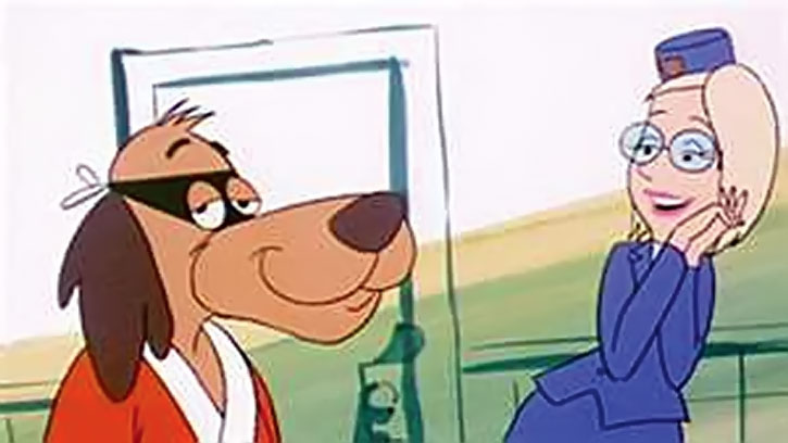 Hong Kong Phooey and Rosemary