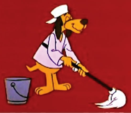 Hong Kong Phooey (Hanna-Barbera cartoon) as Penry the janitor