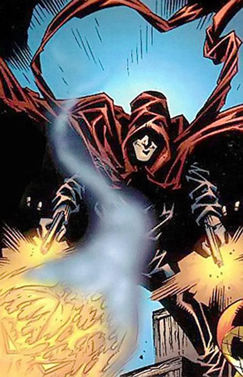 Hood (Parker Robbins) (Marvel Comics) dual-wielding pistols