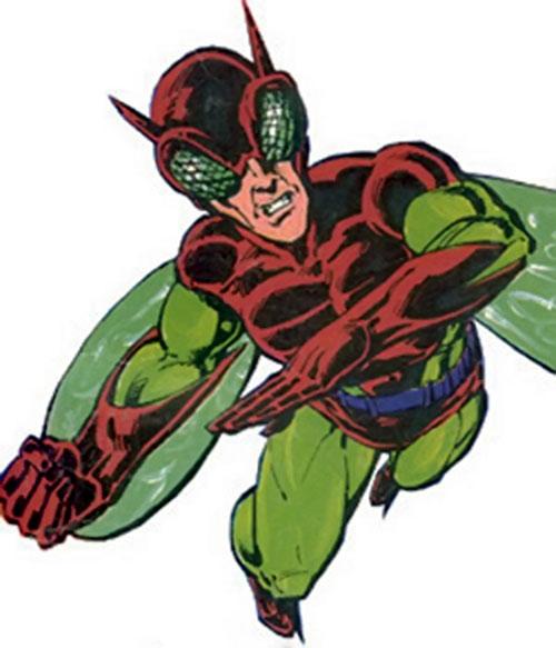 Hornet (Villains & Vigilantes RPG) color picture