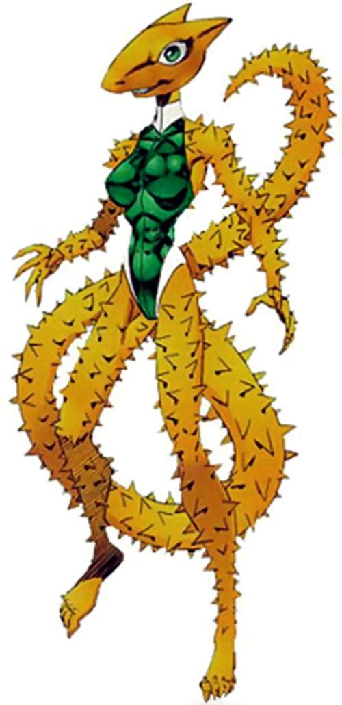 Horridus from Freak Force (Savage Dragon comics)