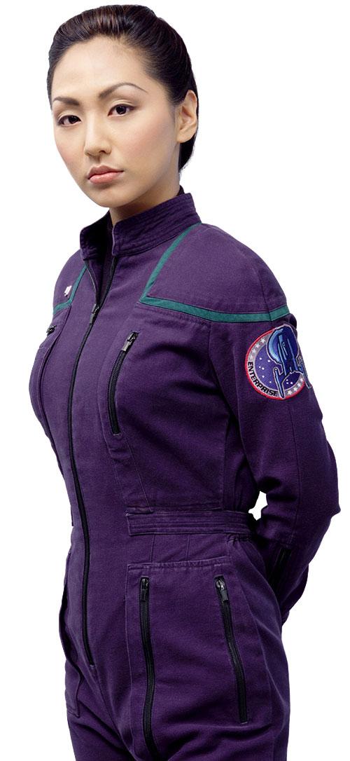 Hoshi Sato (Linda Park in Star Trek Enterprise)