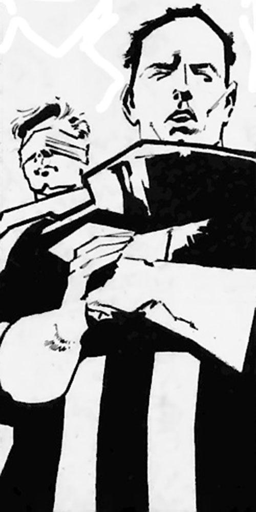 Hotspur (Zenith character, Grant Morrison) (2000 AD Comics)