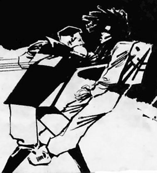 Hotspur (Zenith character, Grant Morrison) (2000 AD Comics) kills a man