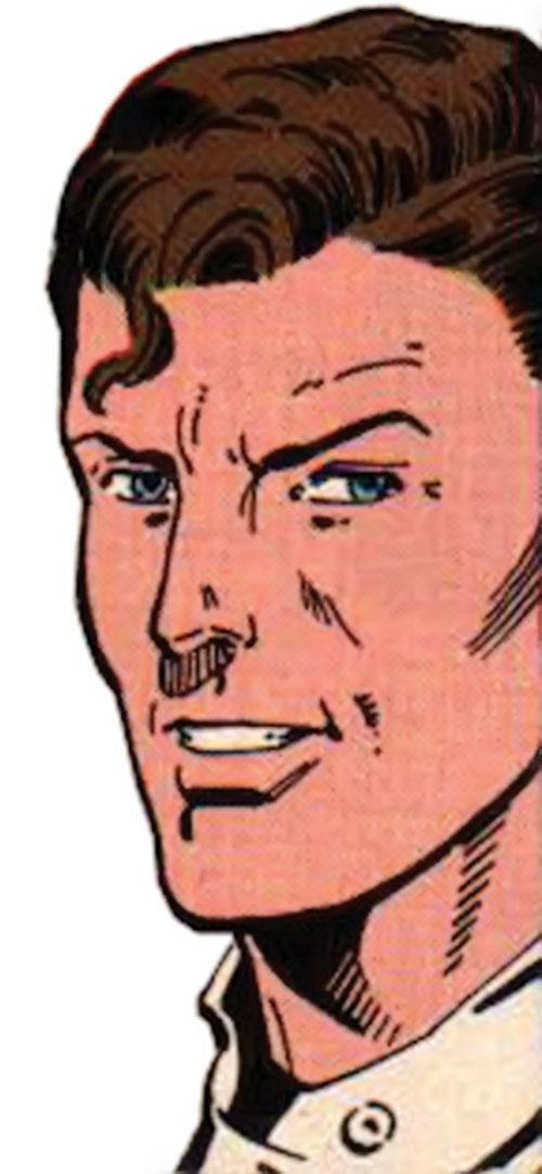 Hourman (Rick Tyler) smiling face closeup