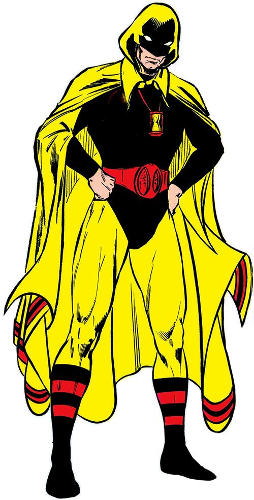 Hourman (Rick Tyler) with his father's costume