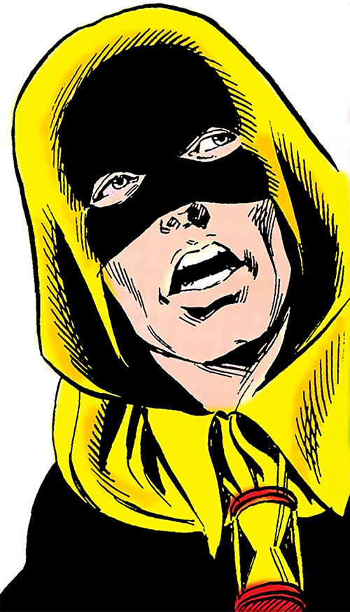 Hourman (Rex Tyler) (DC Comics) (Golden age) closeup