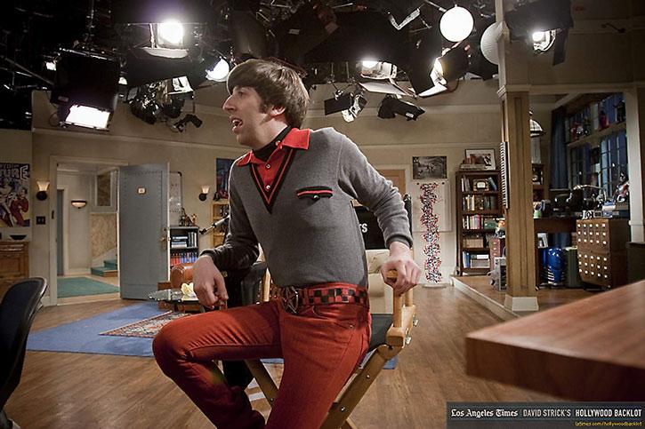 Howard Wolowtiz (Simon Helberg) from the Big Bang Theory