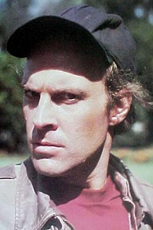 Howlin' Mad Murdock (Dwight Schultz in The A-Team) face closeup