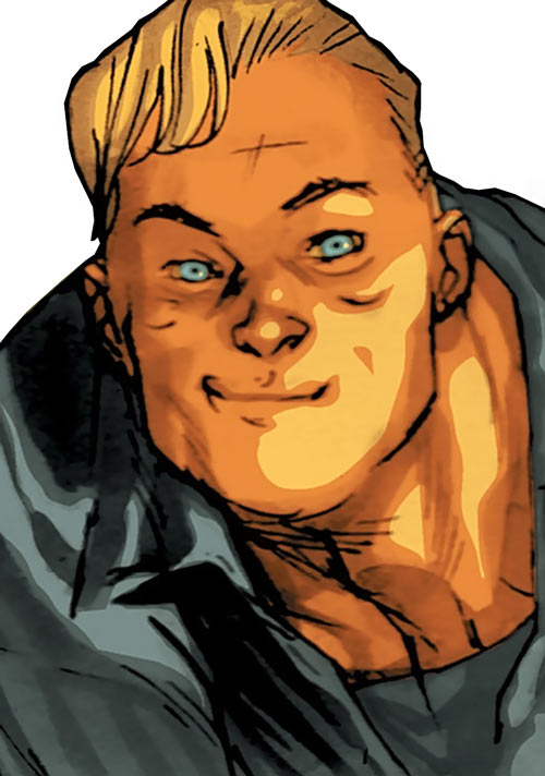 Huck (Image Comics) (Mark Millar) face closeup
