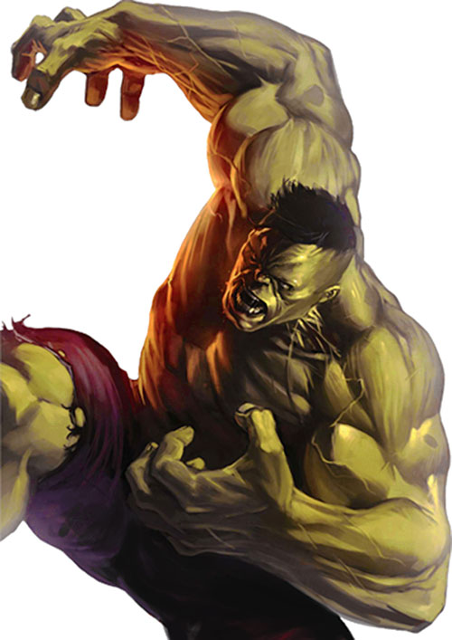 Hulk (Marvel Comics iconic) painting