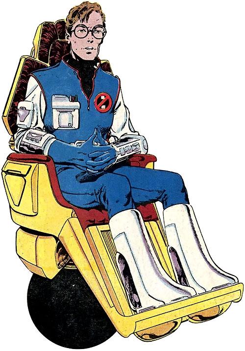 Hulk (Marvel Comics iconic) Bruce Banner hoverchair