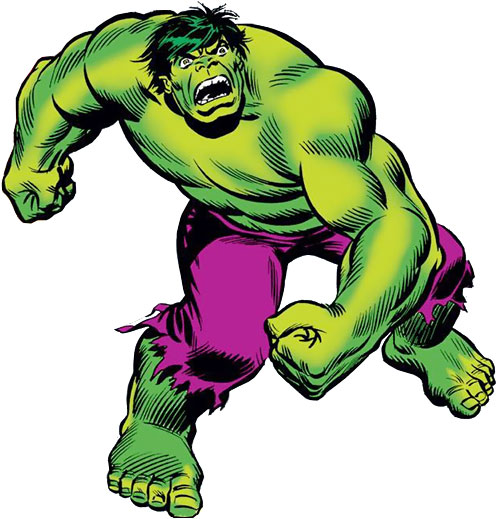 Hulk (Marvel Comics iconic) 1970s Romita art