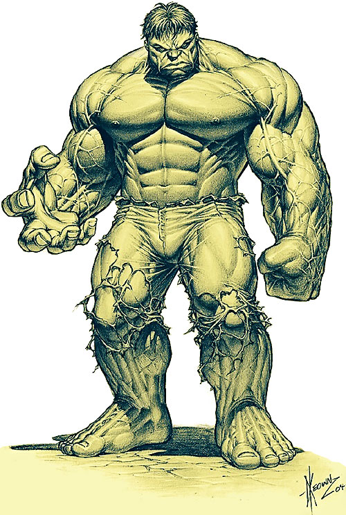 Hulk (Marvel Comics iconic) by Dale Keown