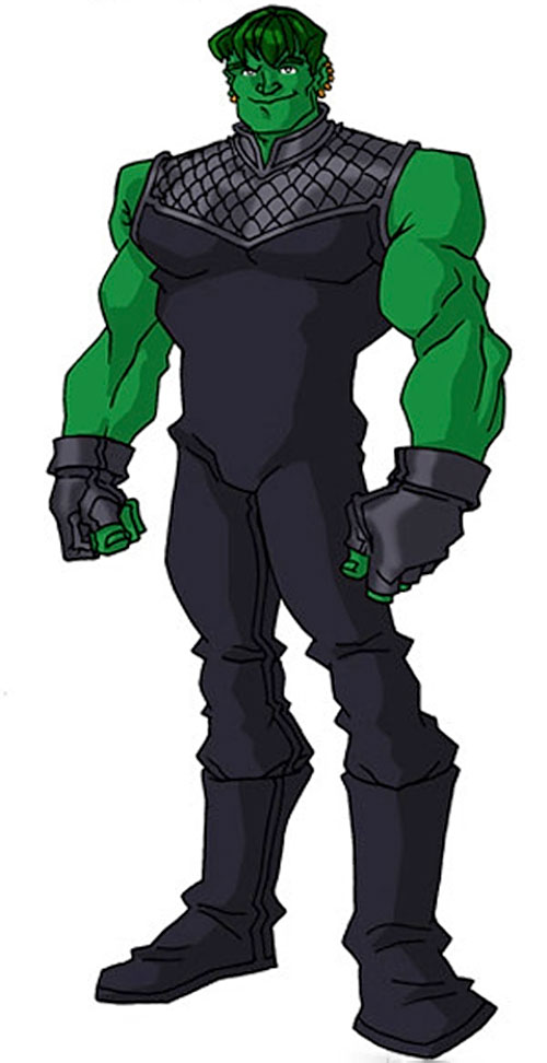 Hulkling of the Young Avengers (Marvel Comics) by RonnieThunderbolts 1/2