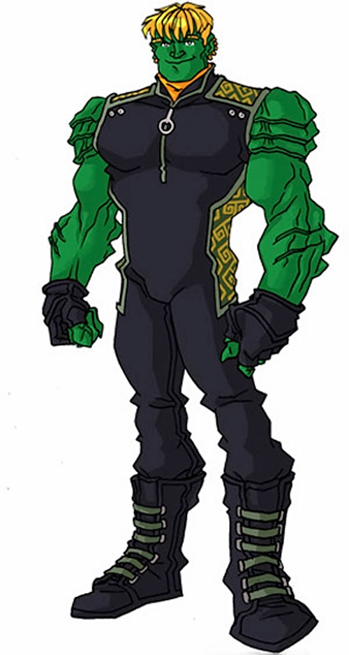 Hulkling of the Young Avengers (Marvel Comics) by RonnieThunderbolts 2/2