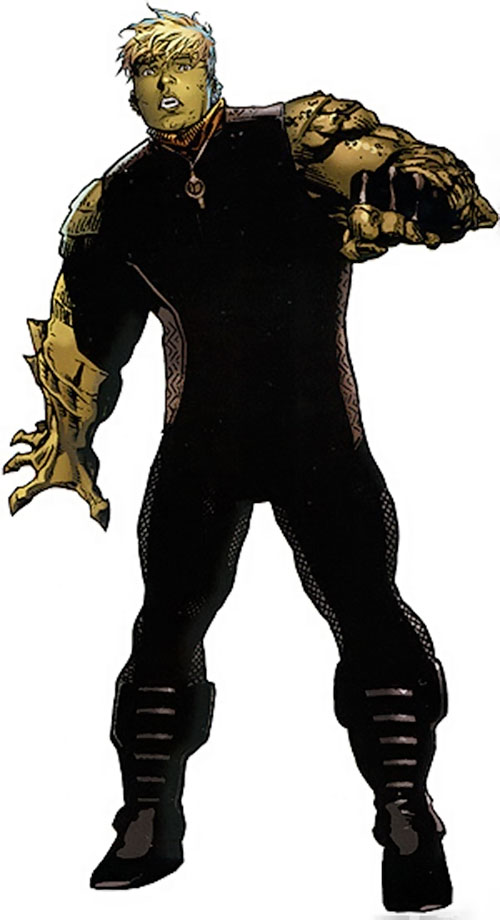 Hulkling of the Young Avengers (Marvel Comics)
