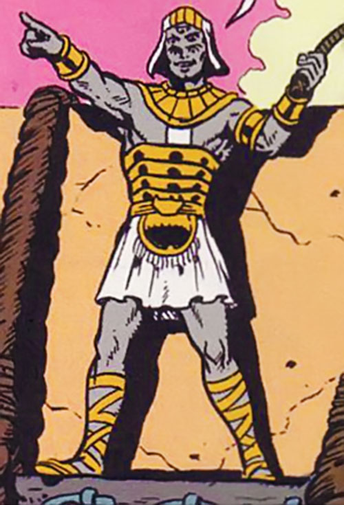 Hulver Ramik (Supreme enemy) (Image comics) in ancient egyptian garb