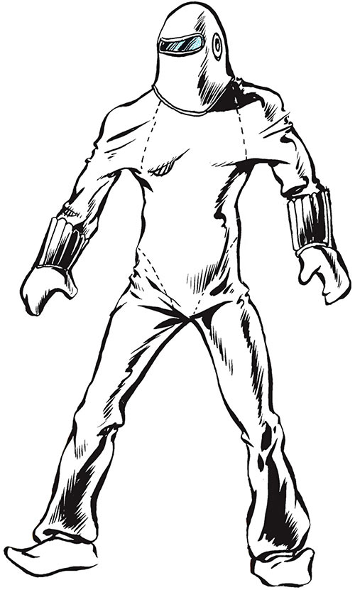 The Human Bomb (DC Comics) over a white background