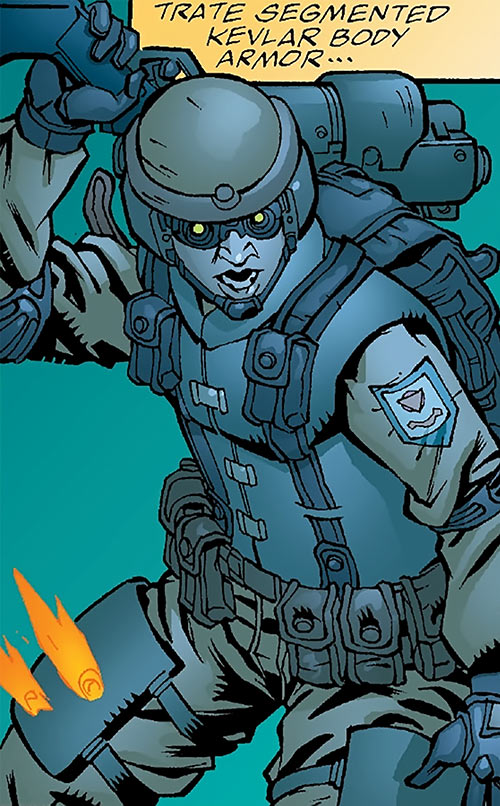 Human Defense Corps (DC Comics) night operation